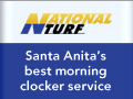 Santa Anita's best morning clocker service